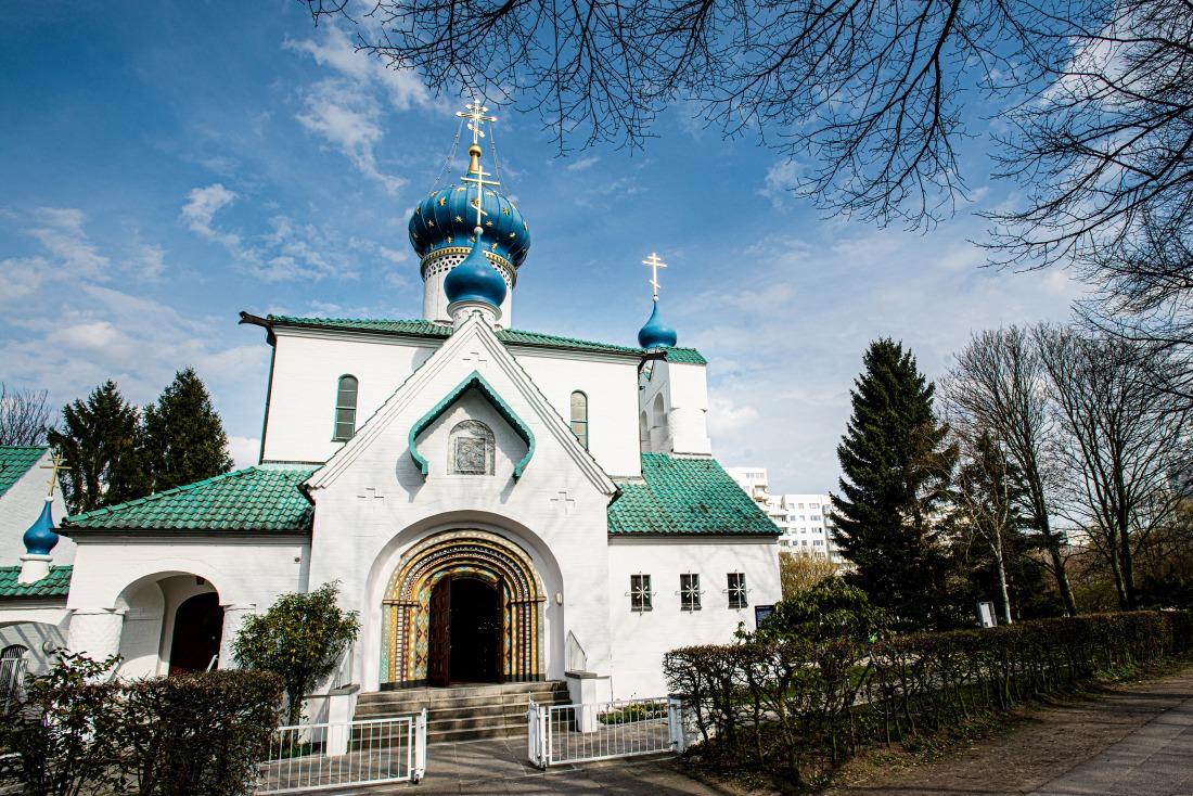 Wonderland: russische Kirche
