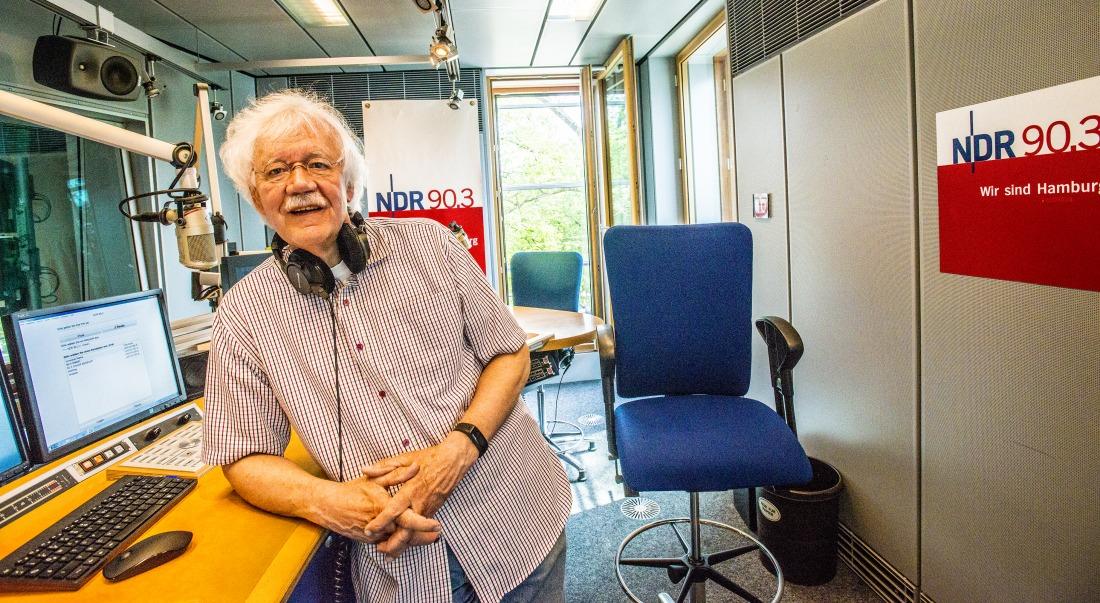 50 Jahre: Carlo von Tiedemann im Studio