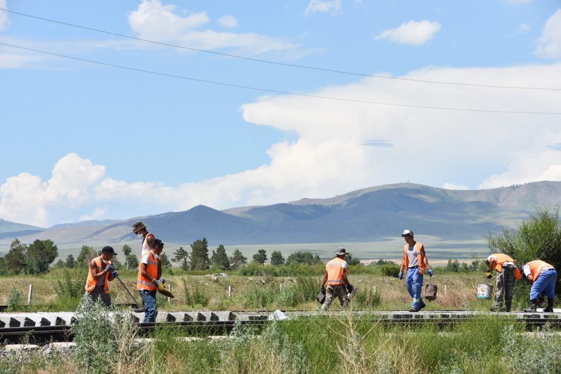 MARKK: Arbeiter an der neuen Seidenstraße