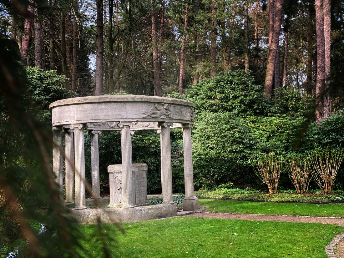 Parkfriedhof Ohlsdorf: Säulengrabmal