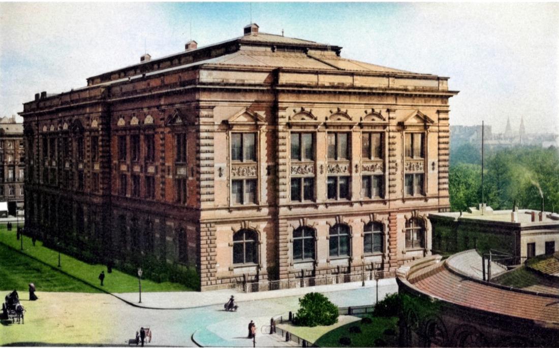 Naturhistorisches Museum in der Ansicht