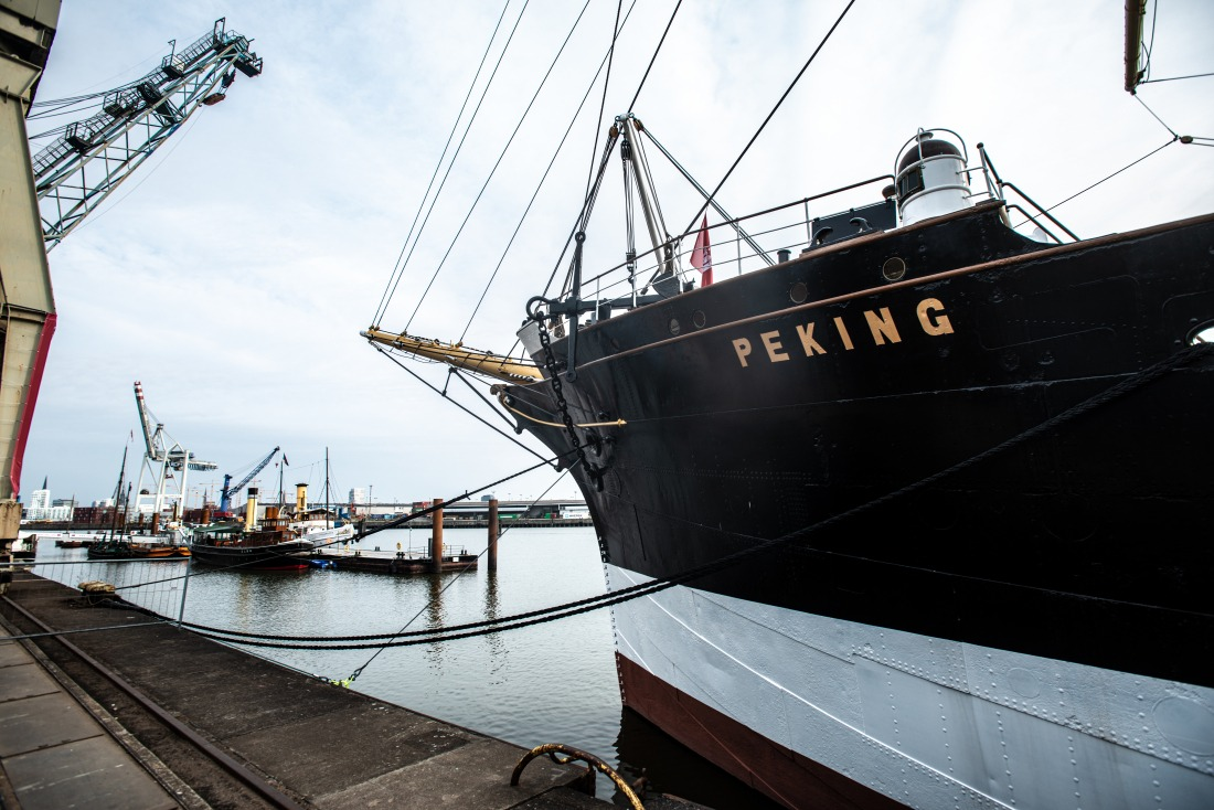 Hafenmuseum: die Peking